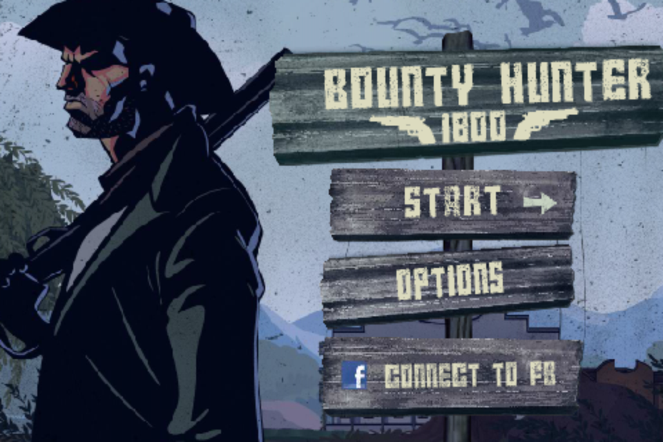 Screenshot Django's Bounty Hunter 1800