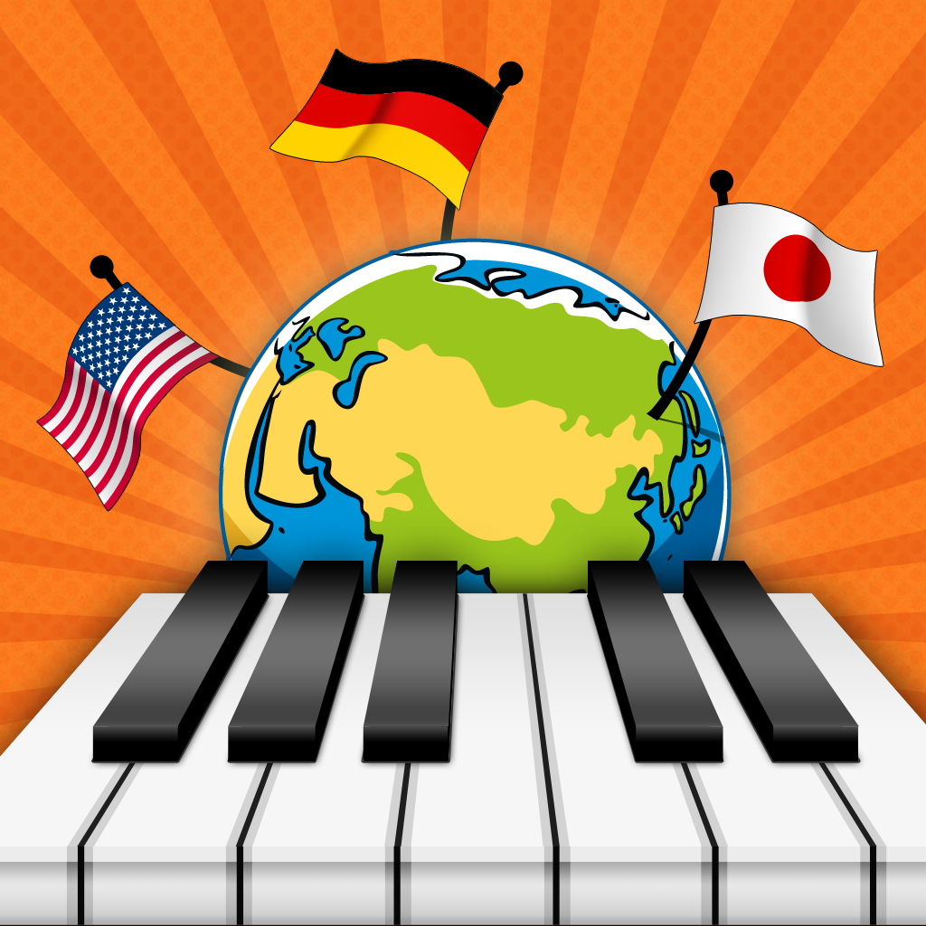 Piano Summer Games - Play National Anthems